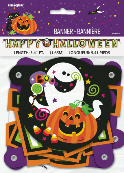 Happy Halloween Jointed Banner